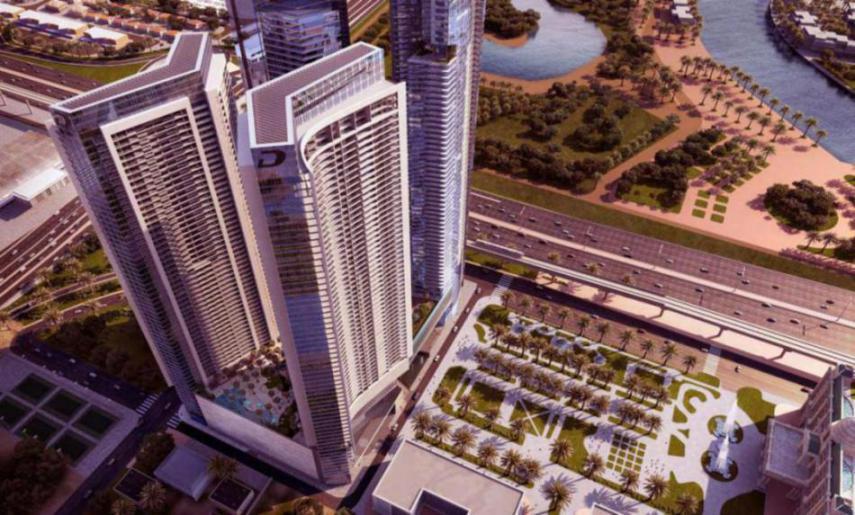 Aykon Heights at  Sheikh Zayed Road