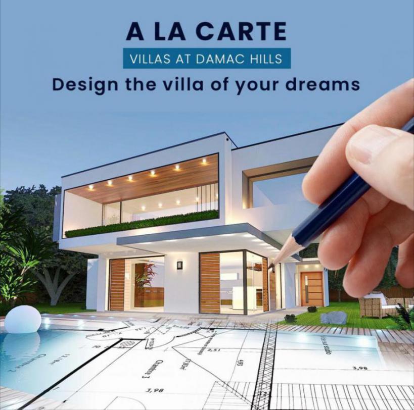 A La Carte Villas at  Damac Hills