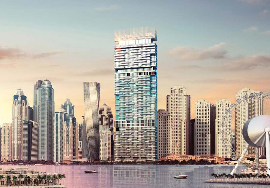 1 / JBR Apartments at  Jumeirah Beach Residence