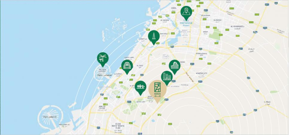 Rukan Lofts at  Dubailand Oasis