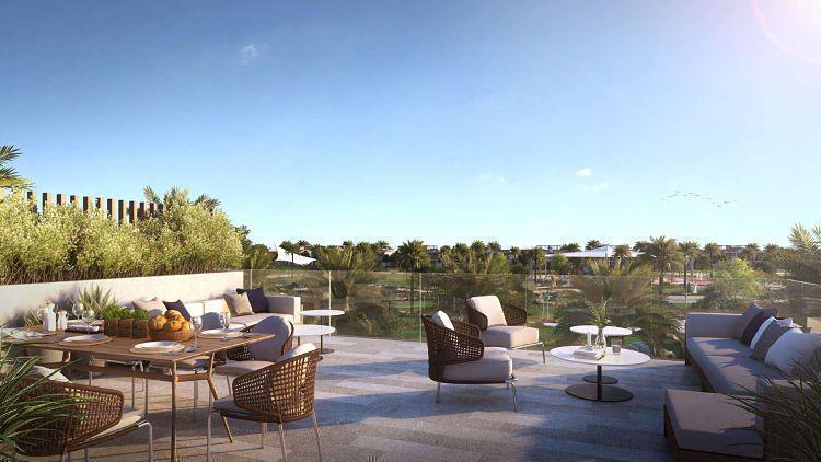 Golf Grove Villas at  Dubai Hills Estate