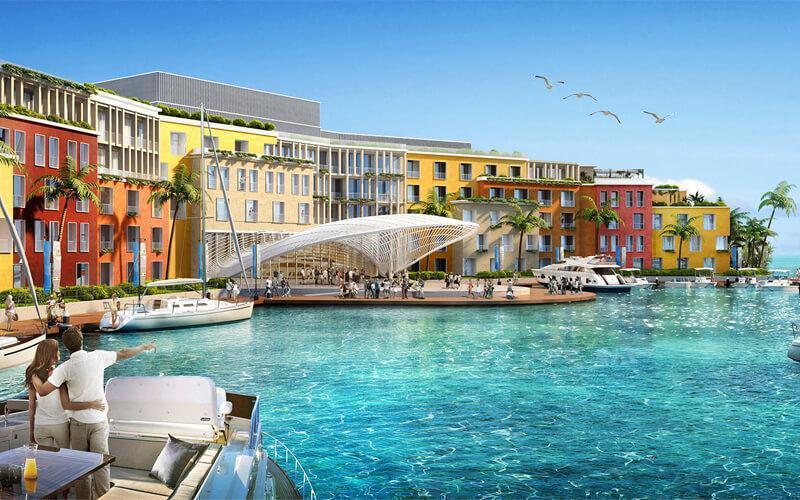 Portofino Hotel at  The World Islands