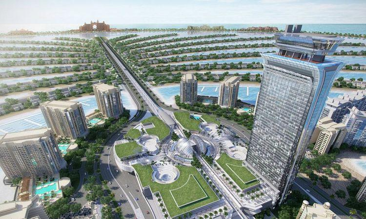 The Palm Tower at  Palm Jumeirah
