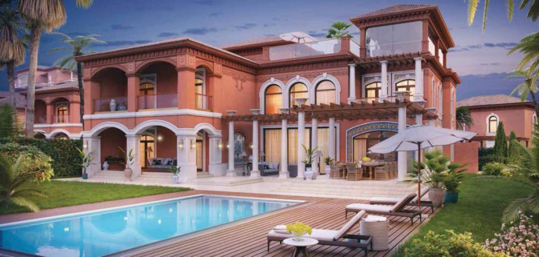 XXII Carat Club Villa at  Palm Jumeirah
