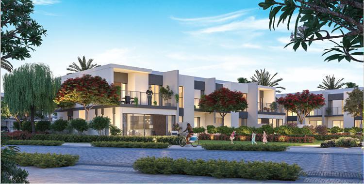 Elan Townhouse Phase 2 at  Tilal Al Ghaf