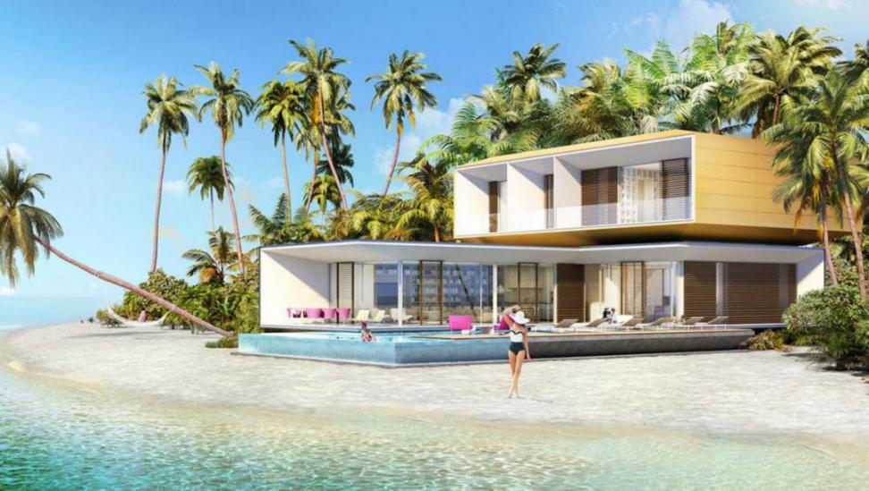 Germany Island Villas at  The World Islands