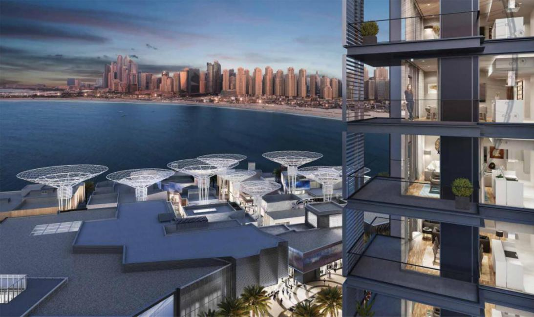 Bluewaters Residences at  Jumeirah Beach Residence