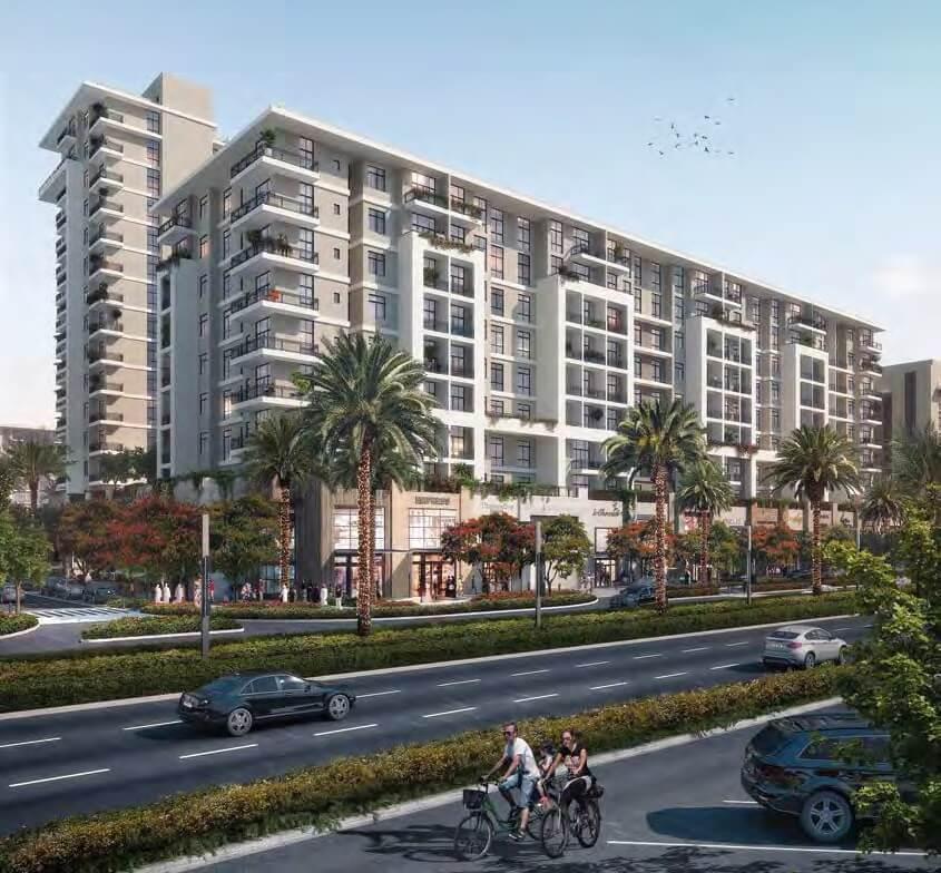 Rawda II Apartments at  Town Square Dubai