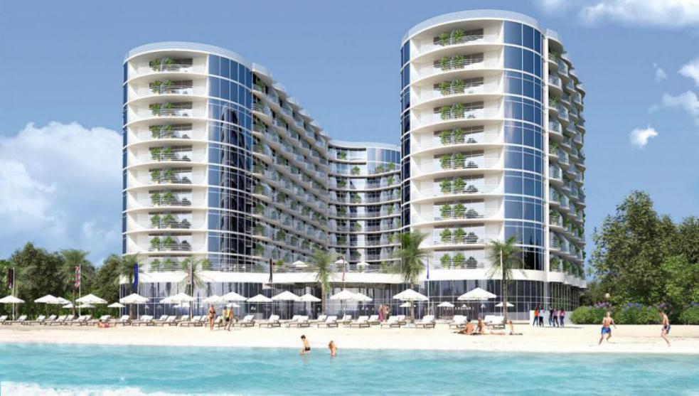 Al Mahra Resort at  Al Marjan Island