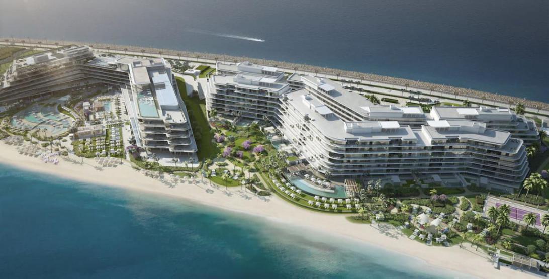 W Residences Dubai The Palm at  Palm Jumeirah