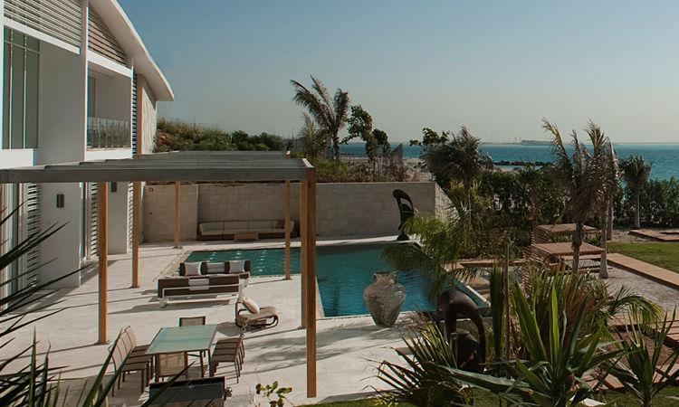 Nurai Island Resort Villas at  Nurai Island, Abu Dhabi