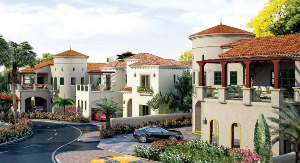 Royal Golf Villas at  Jumeirah Golf Estates