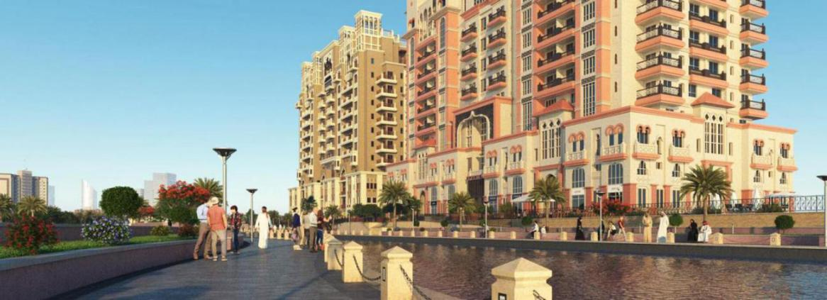 Canal Residence West – Arabian Tower at  Dubai Sports City