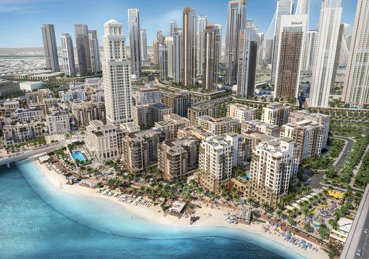 Bayshore – Creek Beach at  Dubai Creek Harbour