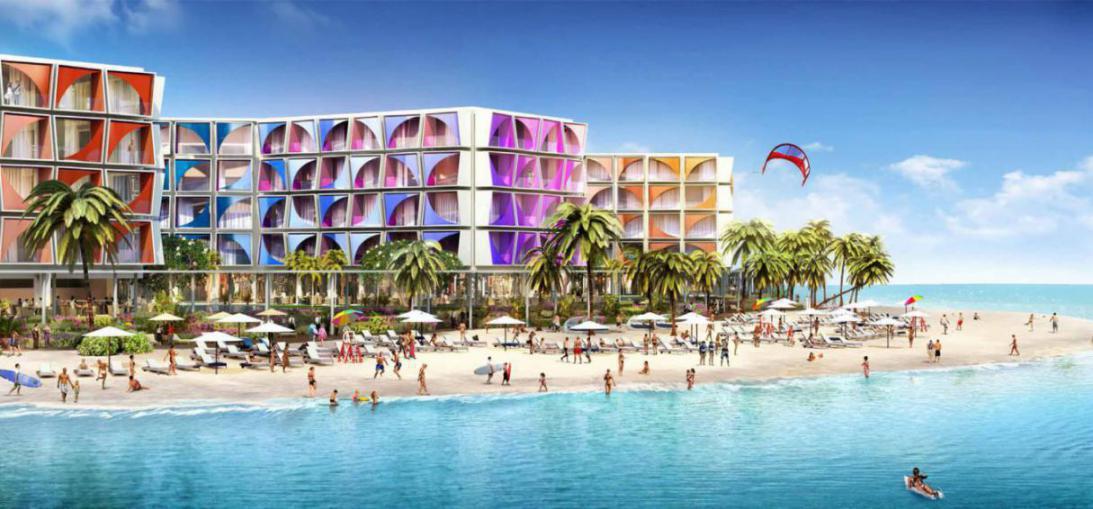 CÔTE D'AZUR Hotel at  The World Islands