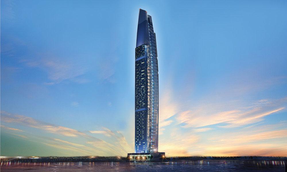 DAMAC Heights at  Dubai Marina