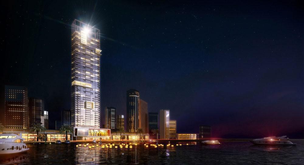Anwa Residences at  Dubai Maritime City