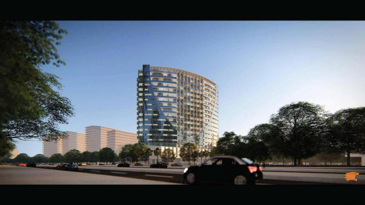 V Tower at  Dubai Residential Complex