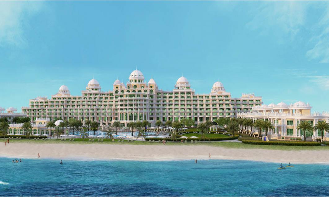 Emerald Palace Kempinski Hotel at  Palm Jumeirah