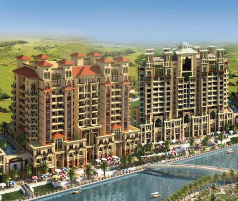 Spanish Tower – Canal West Residence at  Dubai Sports City
