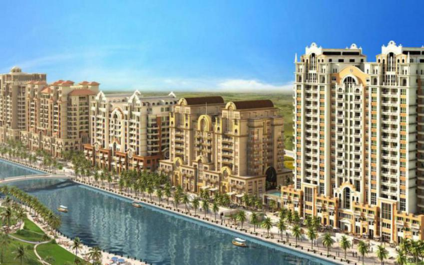 Venetian Tower- Canal Residence West at  Dubai Sports City