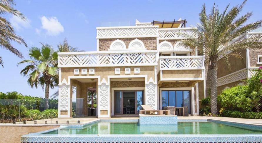 Balqis Residence Villas at  Palm Jumeirah