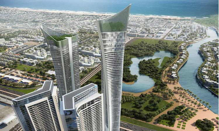 AYKON Towers at  Sheikh Zayed Road