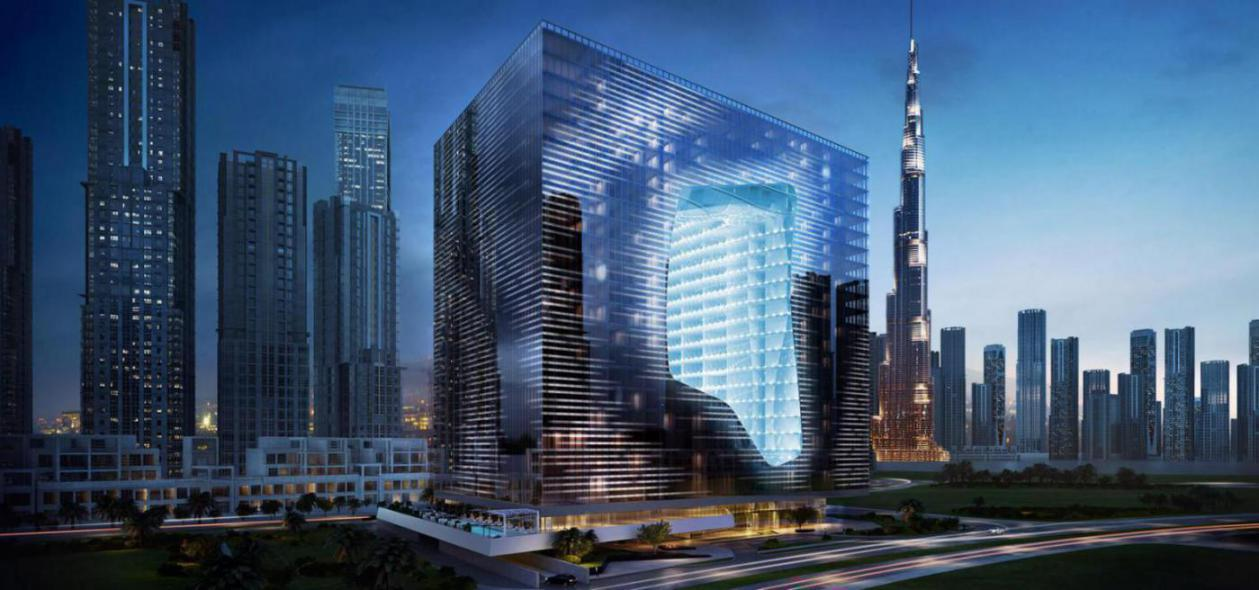 The Opus Residence at  Downtown Dubai
