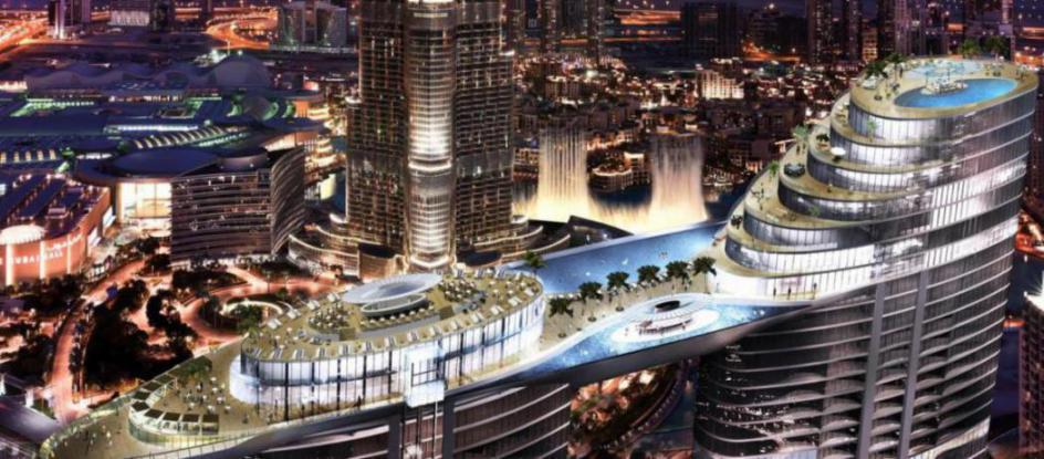 The Address Sky View Residences at  Downtown Dubai