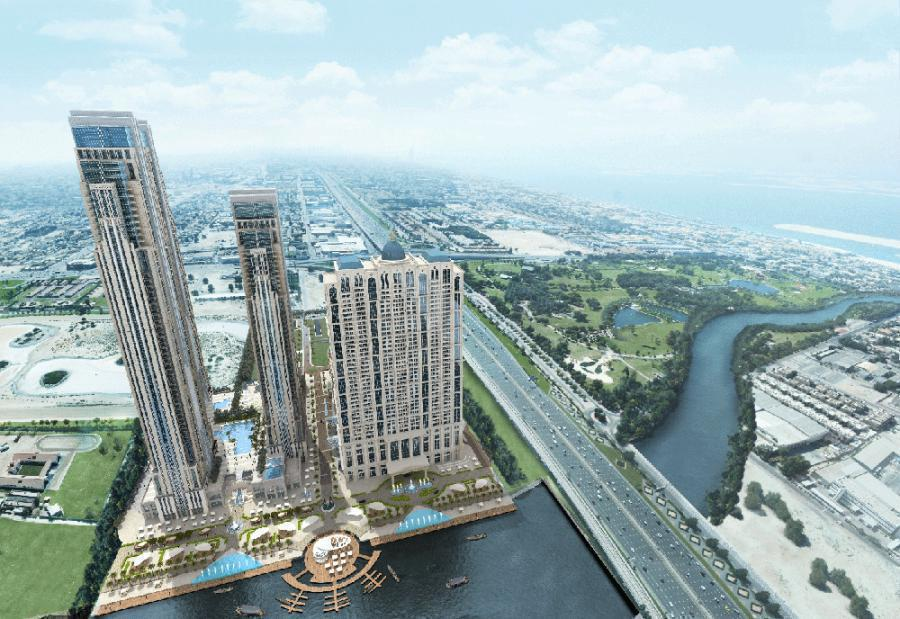 Al Habtoor City at  Sheikh Zayed Road
