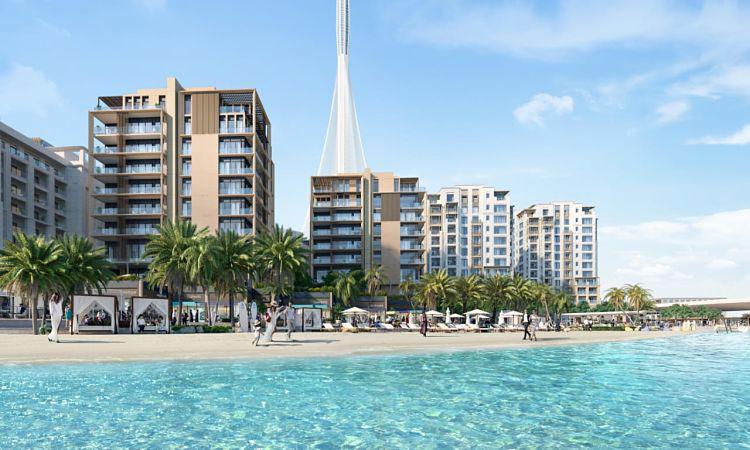 Breeze Creek Beach Building 3 at  Dubai Creek Harbour