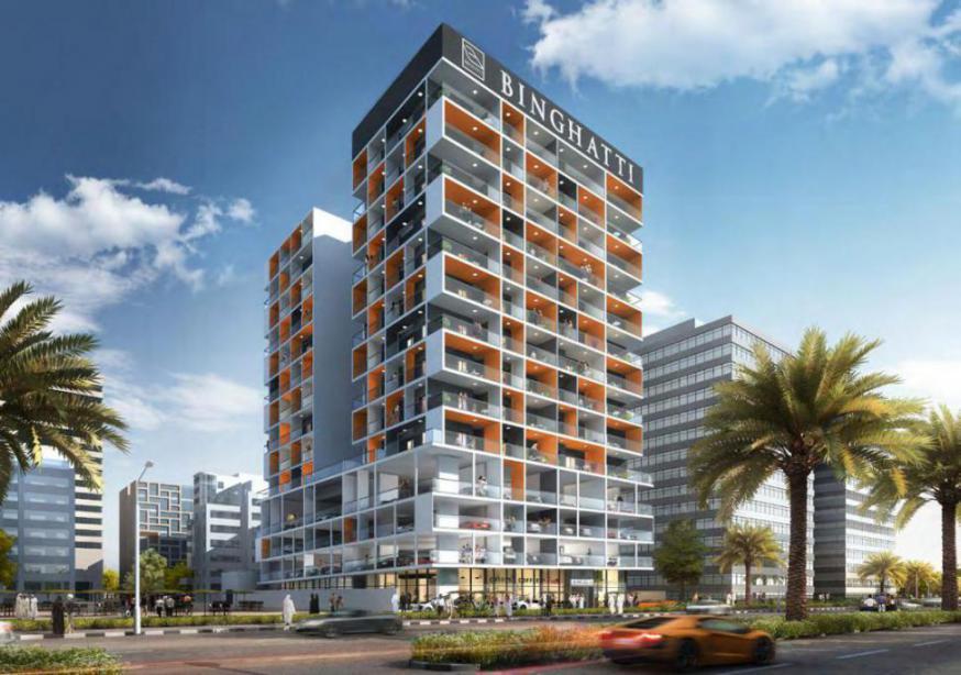 Binghatti Point Apartments at  Dubai Silicon Oasis