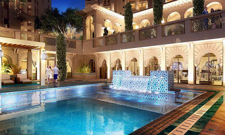 Alandalus Apartments Tower D at  Jumeirah Golf Estates