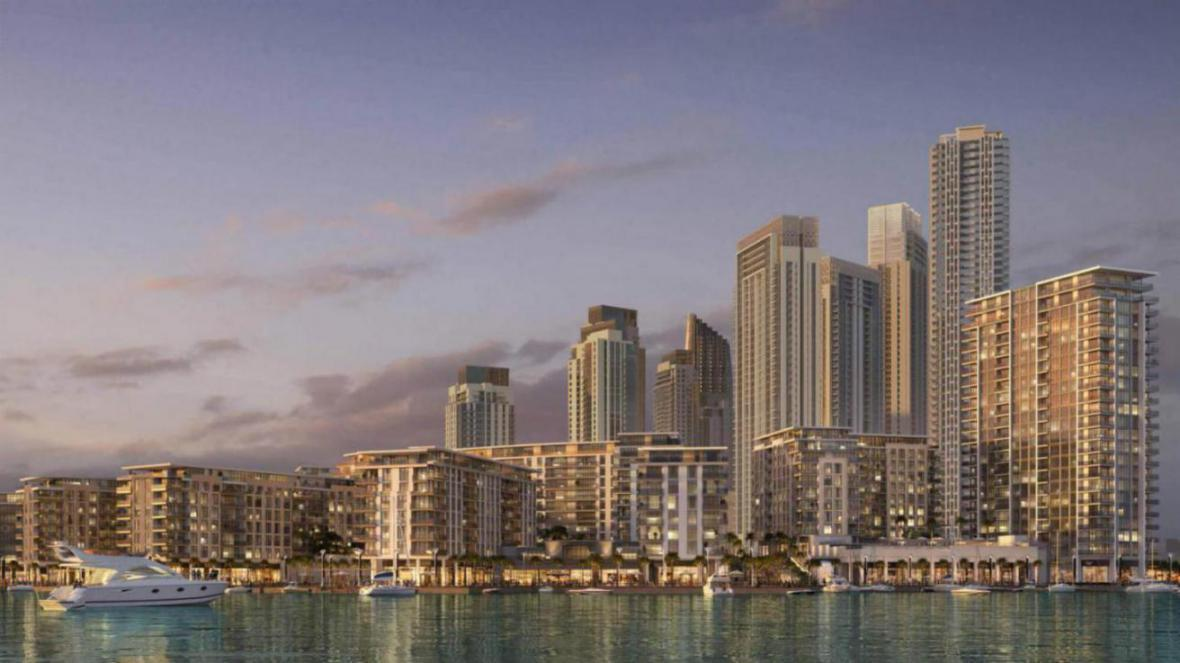 The Cove Building 1 at  Dubai Creek Harbour