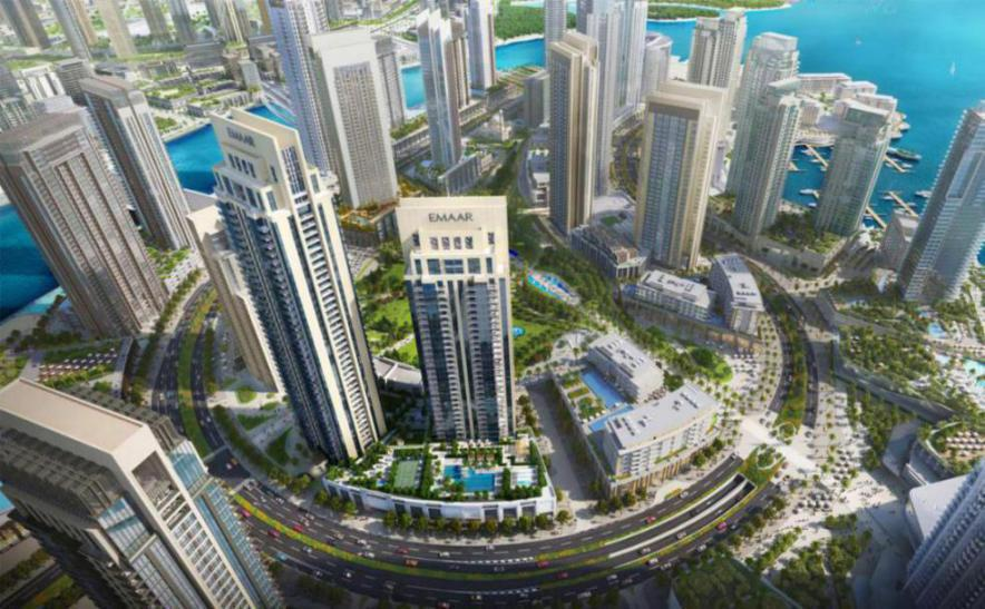 Creek Rise Apartments at  Dubai Creek Harbour