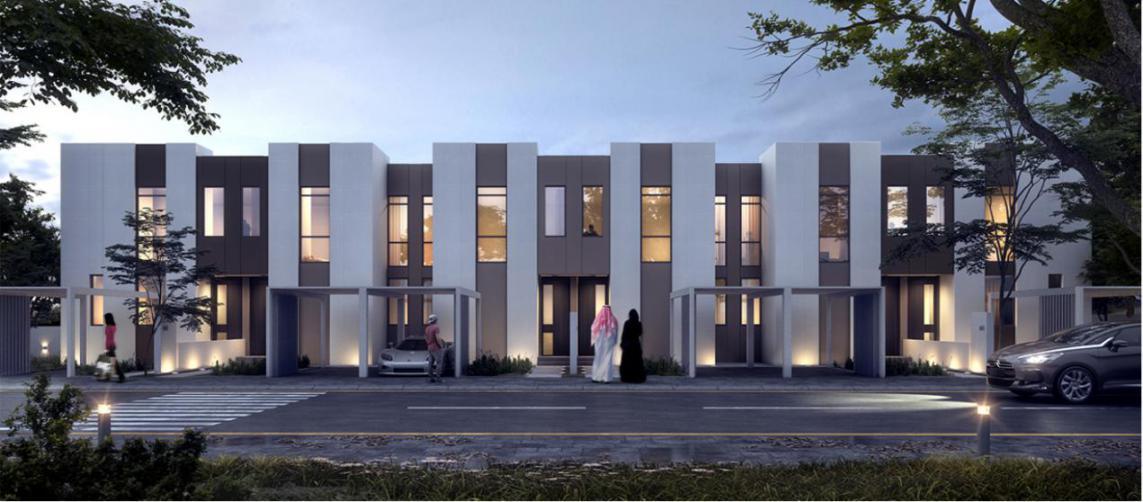 Bareem Townhouses at  Nasma Residences, Sharjah