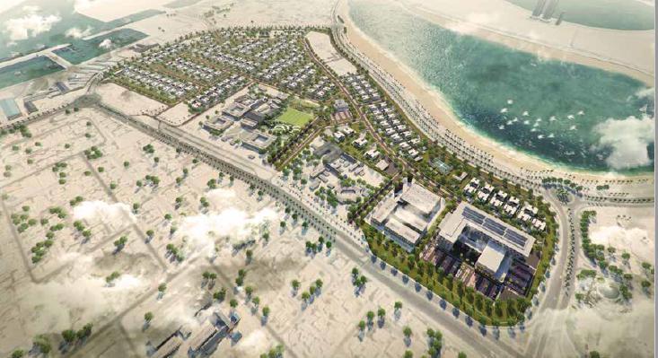 Al Mamzar District Plot at  Al Mamzar District Plot