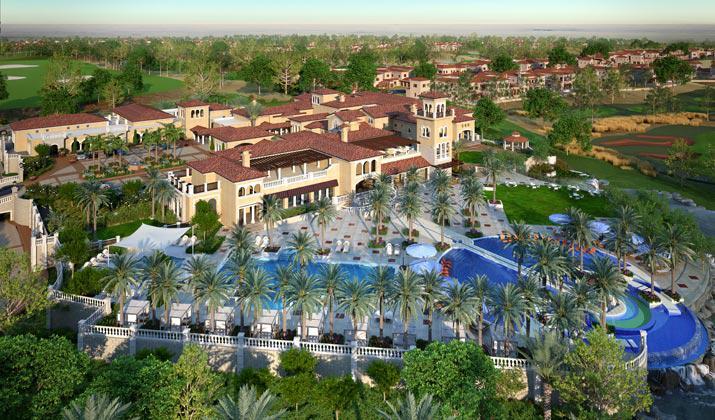Whispering Pines Villas at  Jumeirah Golf Estates